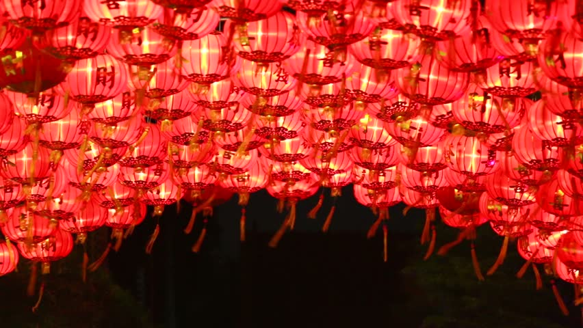 chinese lanternfor celebrate chinese new year chinese red lanternfor celebrate spring - Chinese New Year Video