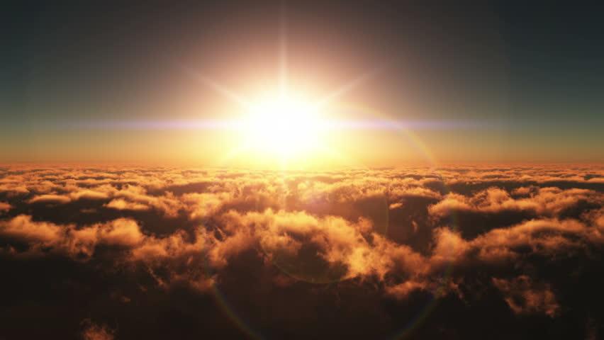 fly in sunset 4k #9093002