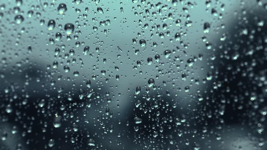 Rainy Days Rain Drops On Window Rainy Stock Footage Video 100