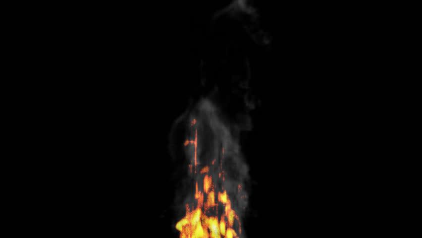 Fire Transparent Background Black Smoke Png