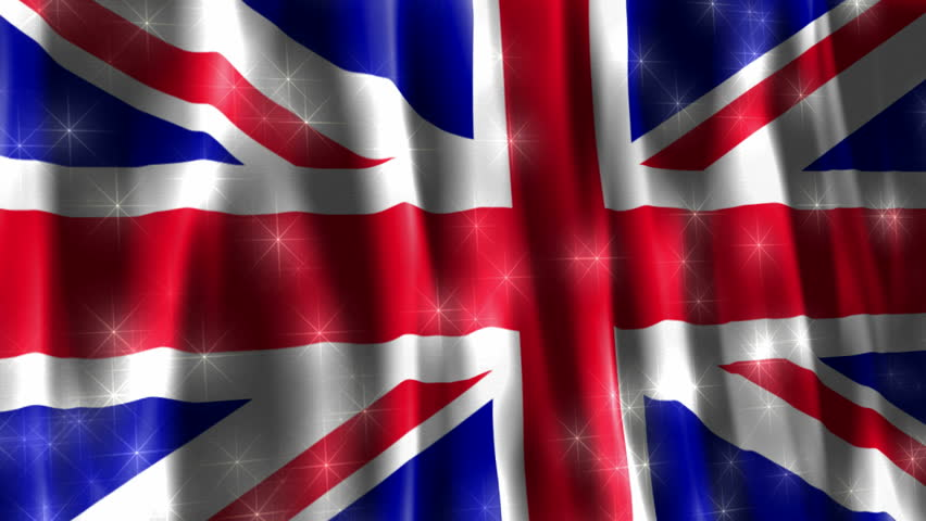 Union Jack British Sparkling Flag