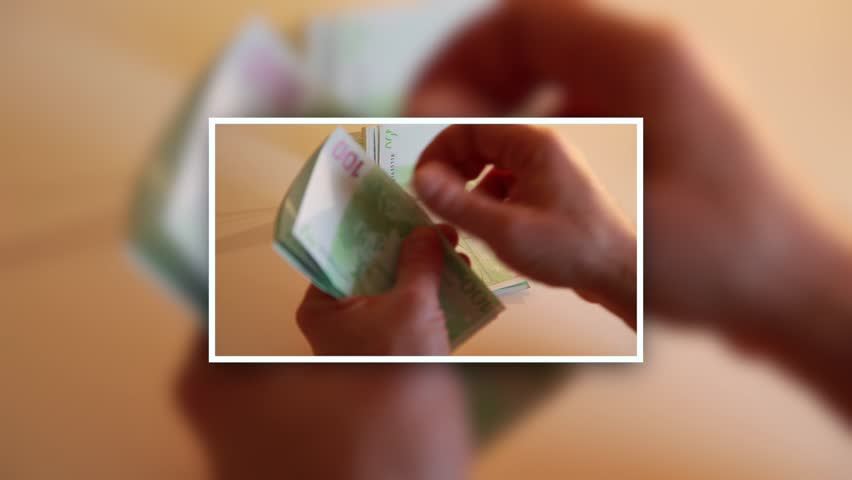 Man counting money.businessman counting the cash in euro  | Shutterstock HD Video #9188468