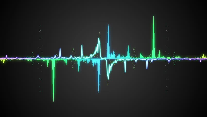how to create waveform video