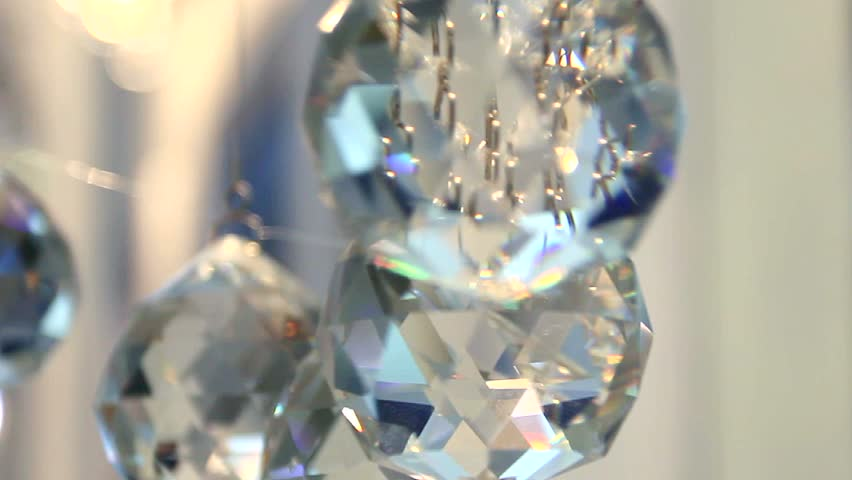 Sparkling glass faceted balls. Crystal balls in the interior. Glass balls suspended, reflections of light on the faces. Crystal balls sparkle Crystal. Christmas balls. New year's day. Festive balloons   Shutterstock HD Video #9389102