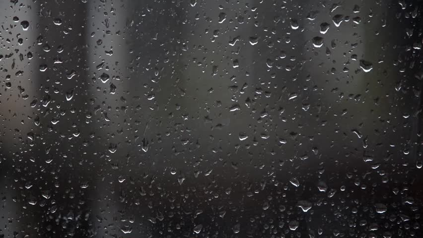 Water Drops On Glass Stock Footage Video 100 Royalty