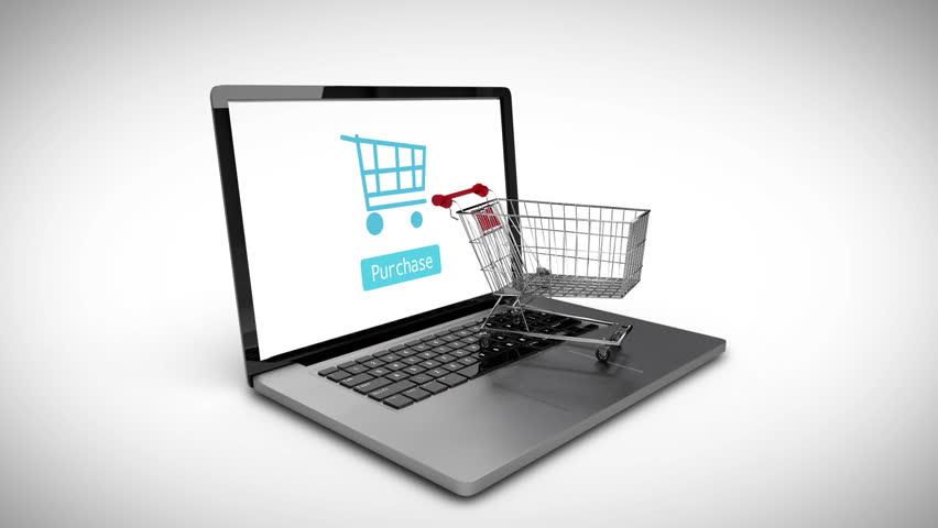 Digital animation of boxes falling in trolley | Shutterstock HD Video #9622922