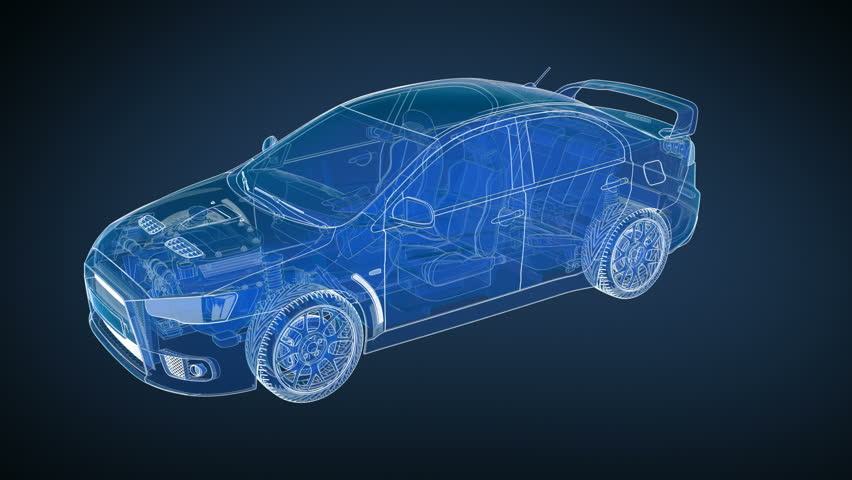 Stock video of car and chassis x rayx2f blueprint 360 9698552 stock video of car and chassis x rayx2f blueprint 360 9698552 shutterstock malvernweather