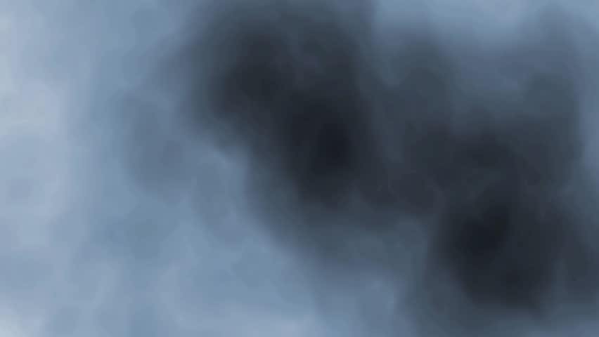 Digital perfectly seamless loop of smoke slowly floating through space against black background | Shutterstock HD Video #9742274