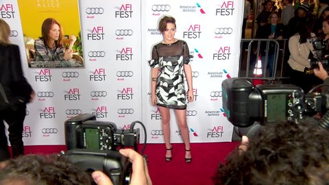 Hollywood, CA - November 12,2014: Kristen Stewart at Still Alice AFI Fest Special Screening, Dolby Theatre