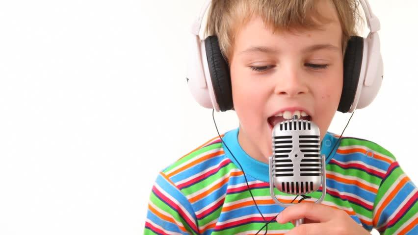 Смешные картинки детей с микрофоном