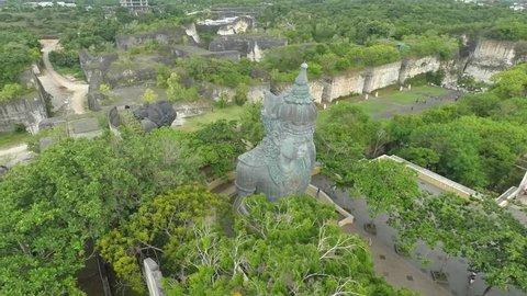 Garuda Wisnu Kencana Aerial Shots