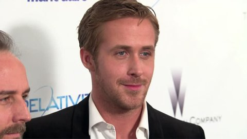 Beverly Hills, CA - January 16,2011: Ryan Gosling at Weinstein Company's 2011 Golden Globe After Party, Beverly Hilton Hotel