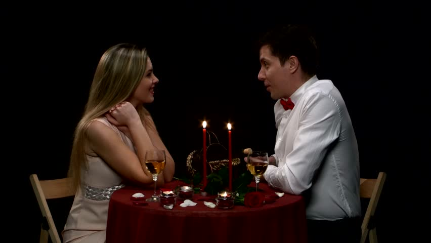 Lovely Young Couple Having Romantic Stock Footage Video -3185