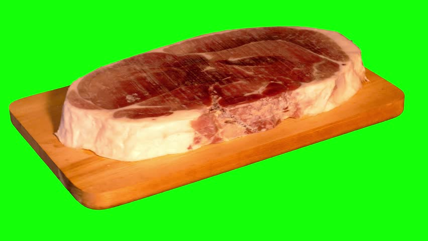 Huge Uncooked Piece of Pork Stock Footage Video (100% Royalty-free) 9883952  | Shutterstock