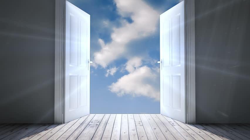 Elegant Digital Animation Of Door Opening Stock Footage Video (100% Royalty Free)  9909512 | Shutterstock