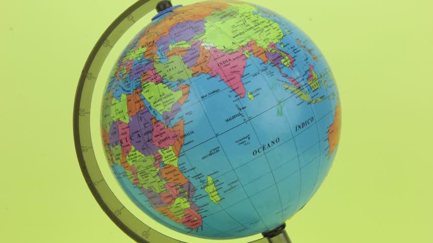 World Globe Stop motion loop
