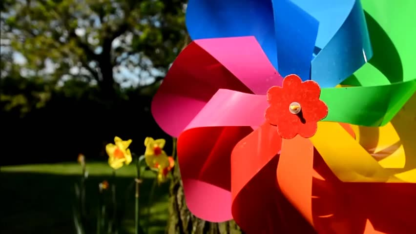 Large Garden Pinwheels Designs