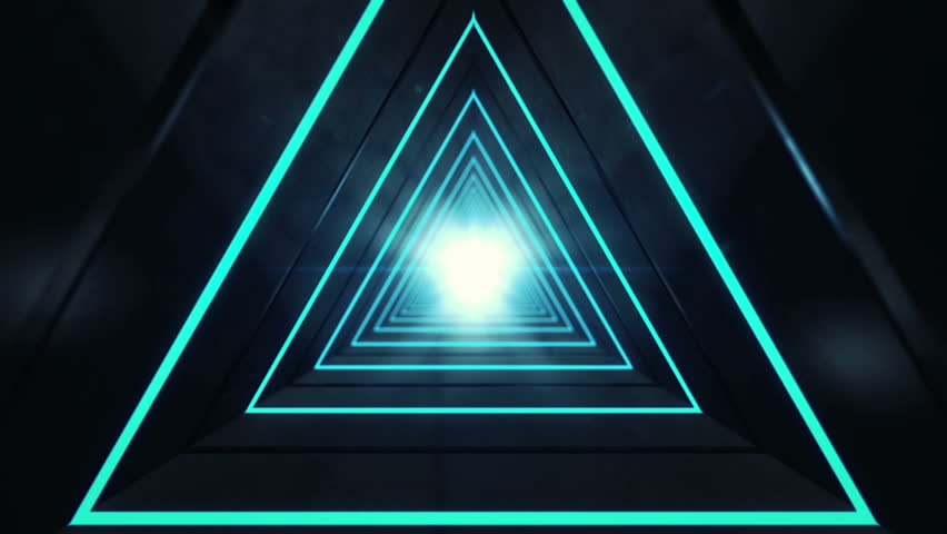 Light Triangle Abstracts Futuristic Background For Your